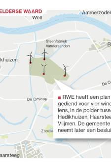 Wethouder Heusden praat over windmolens met 'buren' in Ammerzoden en Well