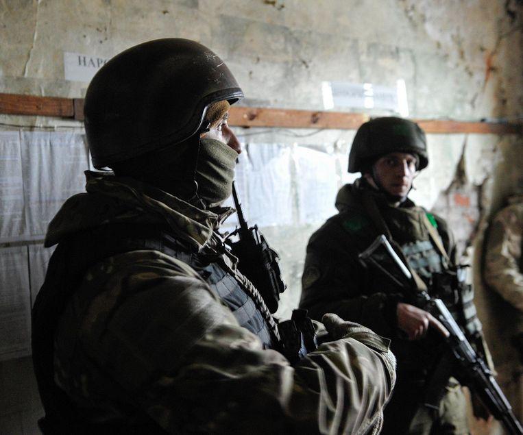 Oekraïne vecht al drie jaar tegen rebellen in twee oostelijke regio's. De aanleiding voor het conflict was de afzetting van de pro-Russische Oekraïense president. Beeld photo_news