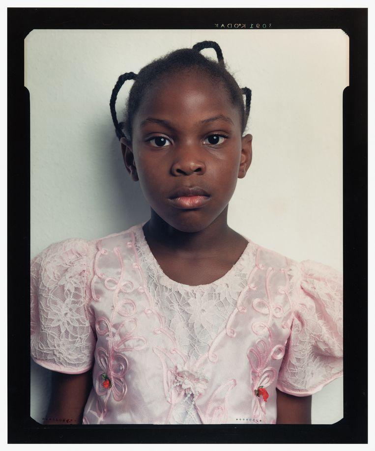 Céline van Balen, Portret van Chima Ekeocha, 1997-1999.  Beeld Celine van Balen