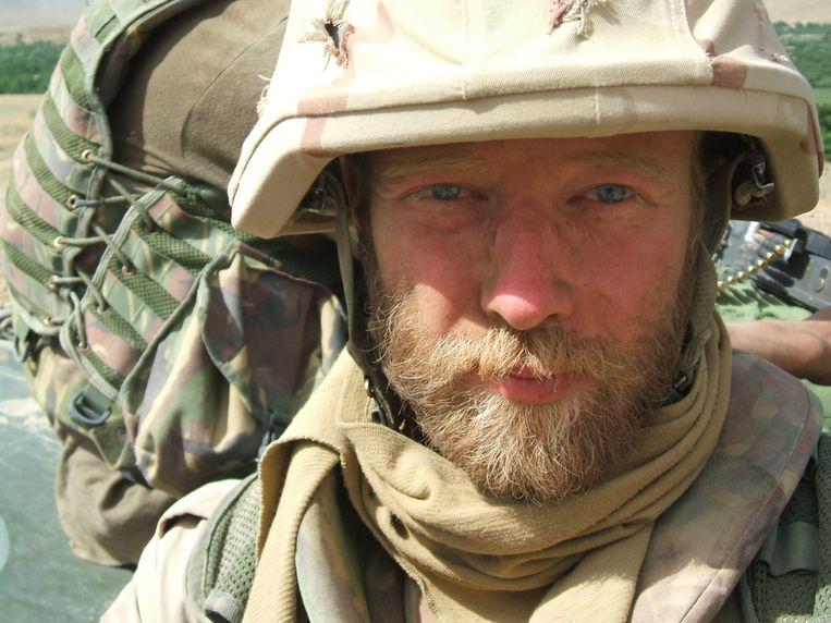 Servie Hölzken in 2007 in Afghanistan.