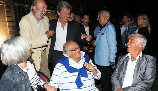 Jean-Pierre Marielle , Alain Delon , Charles Gerard, Georges Lautner et Jean-Paul Belmondo