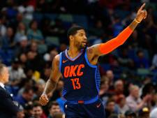 Oklahoma City Thunder pas na verlenging langs Utah Jazz