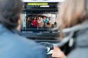 Opnames van de bioscoopfilm Zwaar Verliefd in Den Bosch