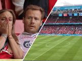 Deense en Finse fans scanderen naam Eriksen na reanimatie op het veld