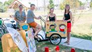 """Plutomobiel rijdt stad rond: """"Met bakfiets naar kinderen voor creatief plezier"""""""