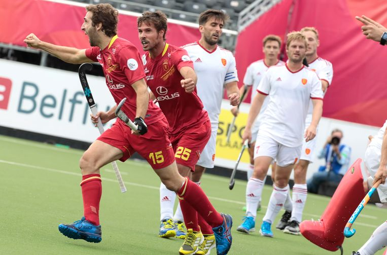 Diego Arana zette Spanje op een 2-1-voorsprong.