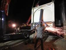Problemen bij TIMZO door gekantelde vrachtwagen