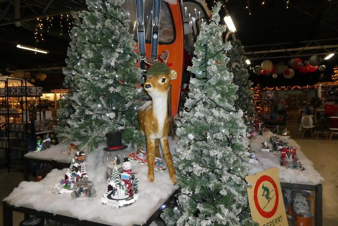 De kerstshow in Tuincentrum Boxtel is afgelopen weekend geopend.