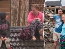 Madeline zat met haar gezin en andere slachtoffers tien uur lang vast op een dak: 'Elk van ons had kunnen sterven daar'