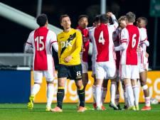 NAC speelt gelijk tegen Jong Ajax en ziet Almere wél profiteren van ketser De Graafschap