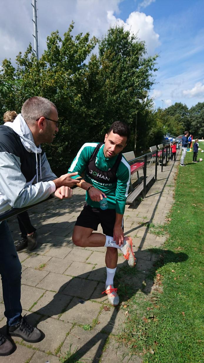 """Huurling Thomas Bruns begint waarschijnlijk meteen in de basis bij PEC Zwolle. ,,Al kan het natuurlijk ook zo zijn dat de staf wil dat ik de tactiek en de speelwijze onder de knie krijg."""""""