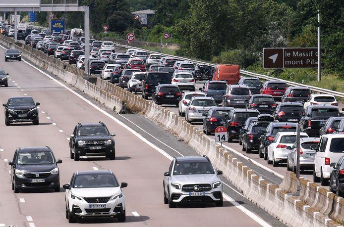 L'A7 entre Lyon et Vienne, le 10 juillet dernier.