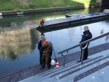 Duikers ingezet bij werkzaamheden langs Vredenburgkade