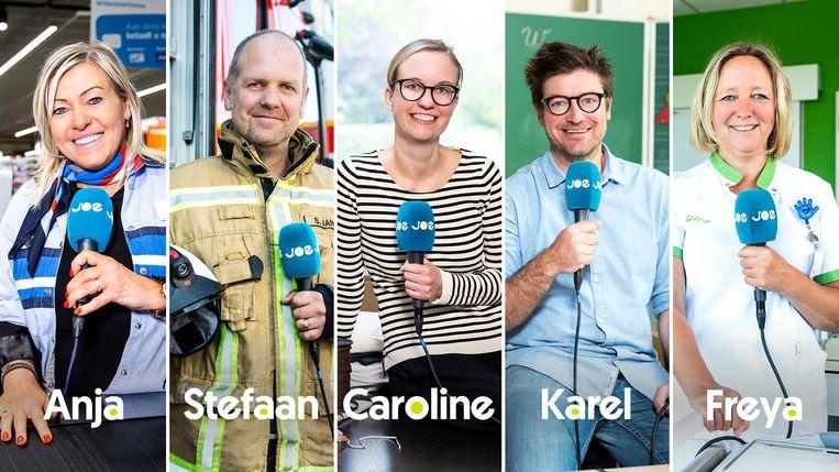Radiozender Joe verandert vanaf 4 mei elke dag van naam om helden te bedanken tijdens coronacrisis. Beeld RV