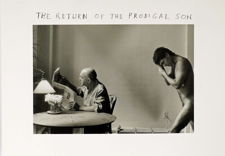 The Return of the Prodigal Son, 1982  Beeld Duane Michals