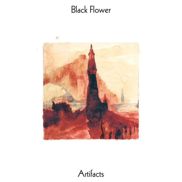 Black Flower  Beeld Black Flower