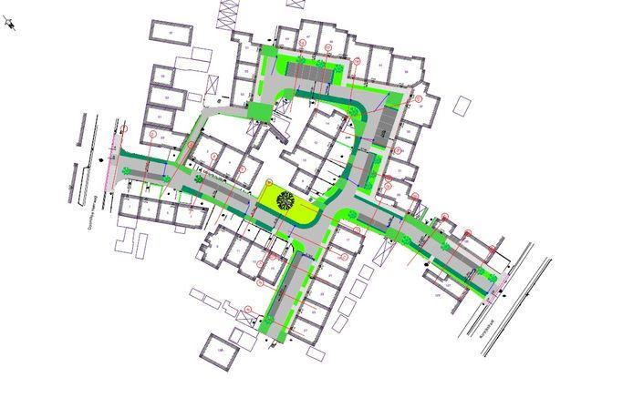 De wijk krijgt ook meer groen.