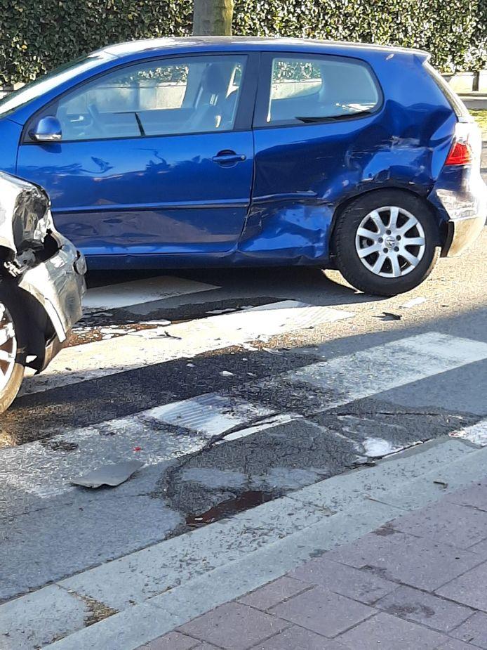 Het ongeval gebeurde in de Hollebeekstraat in Hoboken.