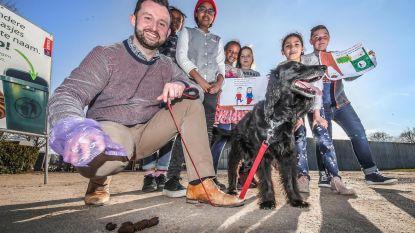 Stad voert strijd tegen hondenpoep op