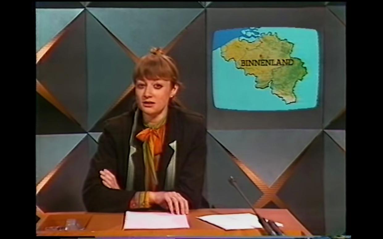 Martine Tanghe - 1984 Beeld VRT