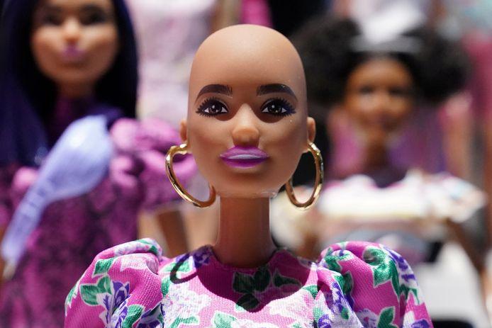 Een van de poppen uit de nieuwe Barbie-collectie