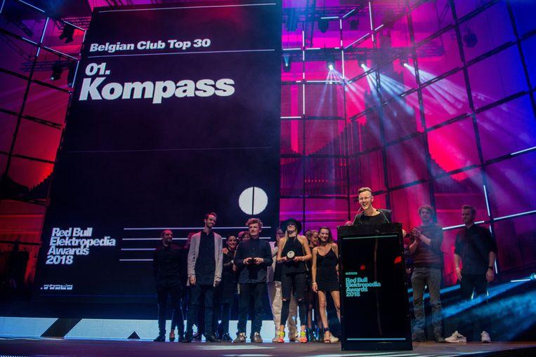De Kompass Klub won vorig jaar nog een  Red Bull Elektropedia Award, voor beste nachtclub.  Beeld Photo News