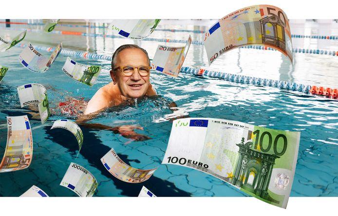 Wethouder Jan Goijaarts van Meierijstad zwemt niet langer in het geld.