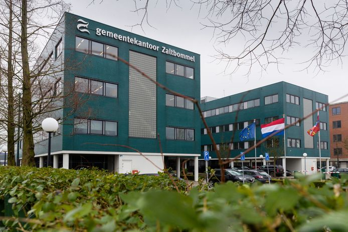 Het gemeentekantoor van Zaltbommel.