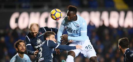Lazio en De Vrij pakken zwaarbevochten punt bij Atalanta