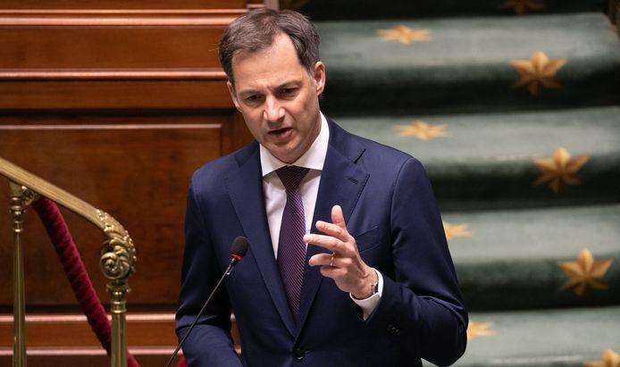 Premier Alexander De Croo (Open Vld).