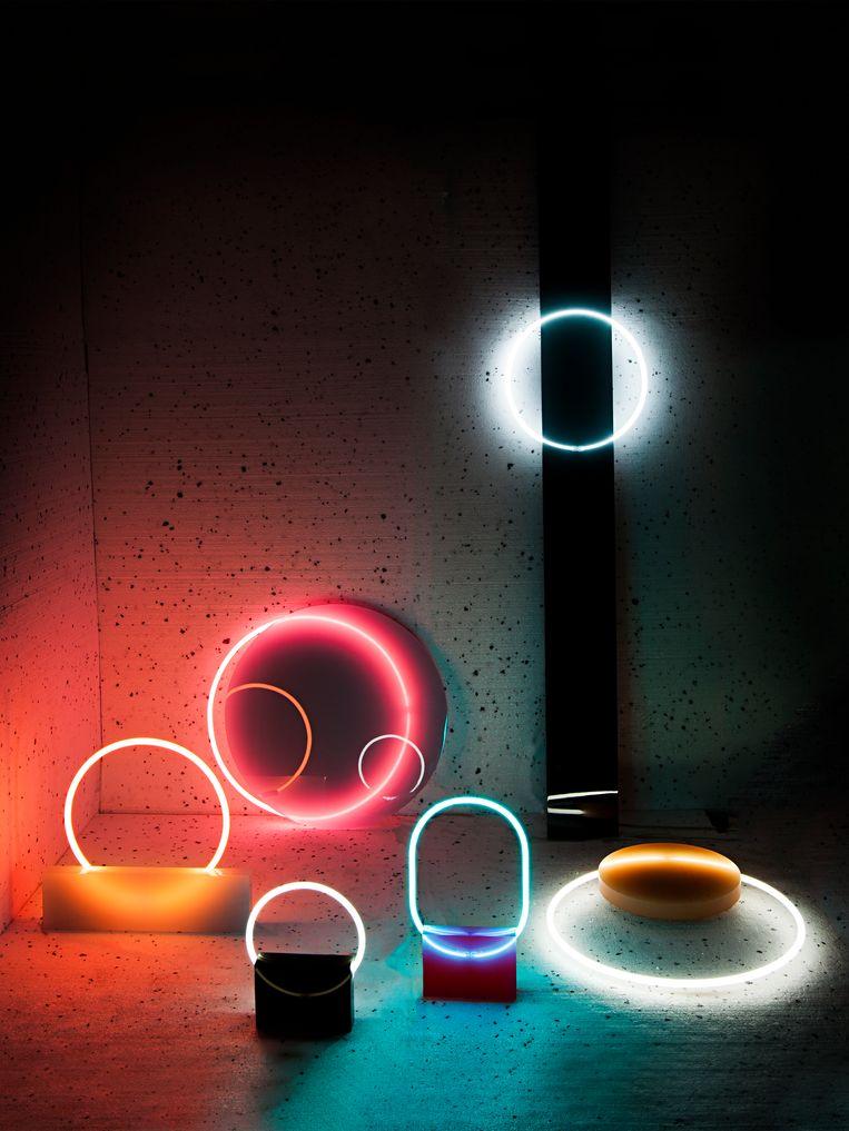 Sabine Marcelis: 'Voie Lights Series #1'. Beeld RV