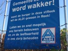 Weg vrij voor Aldi richting weiland bij de rotonde in Reek