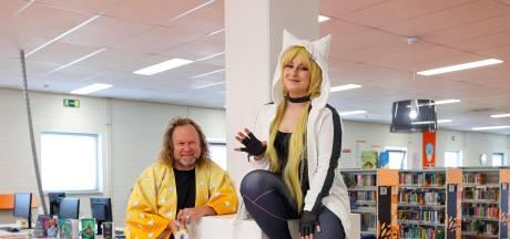 Geldrops biebbezoek stapt in de wereld van anime en cosplay