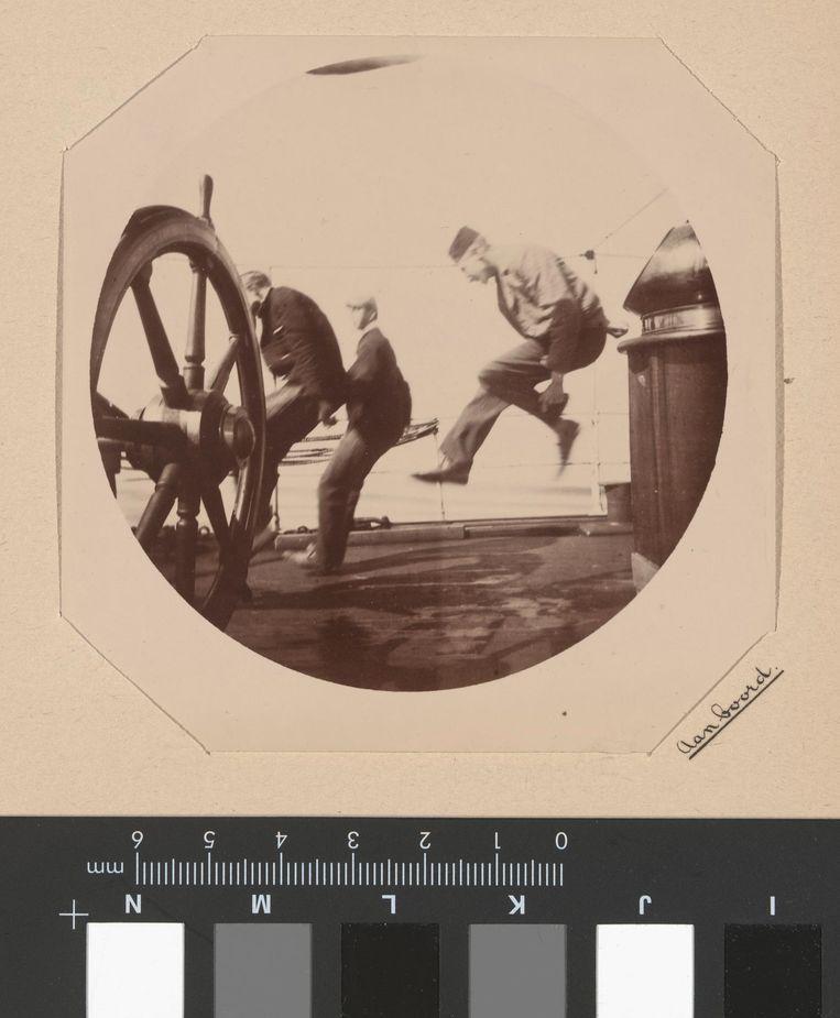 Willem Frederik Piek Jr., circa 1892. Beeld null