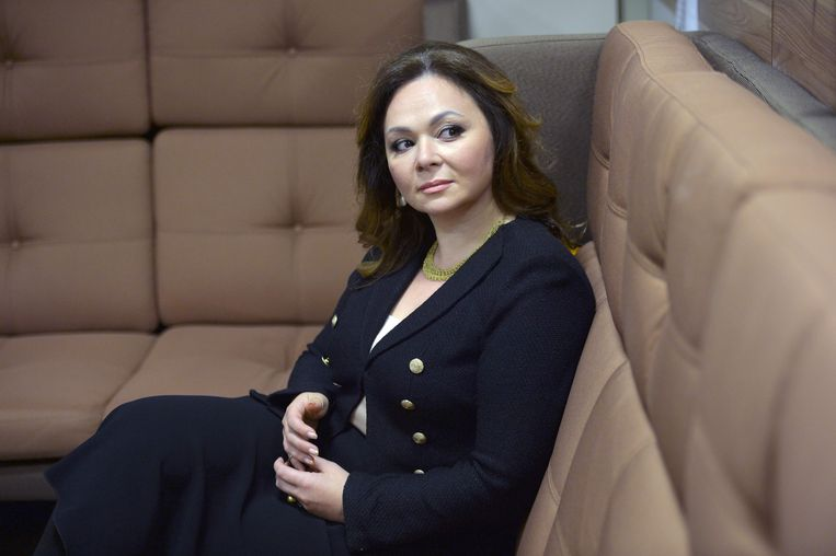 Russian lawyer Natalia Veselnitskaya posing during an interview in Moscow. Beeld AFP