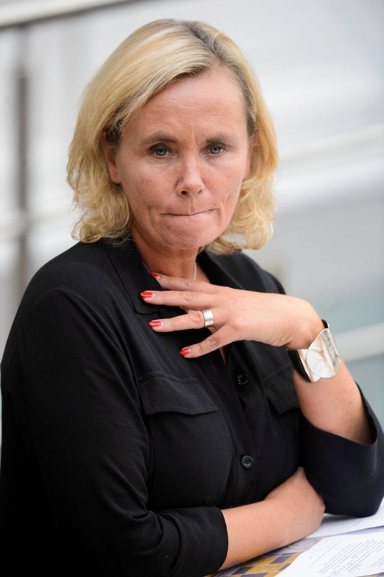 Minister van Binnenlands Bestuur Liesbeth Homans. Beeld Photo News