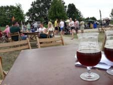 Goed toeven op de picknick in het  arboretum van Geffen