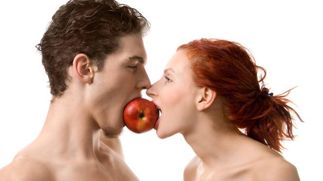 Een appel per dag... is goed voor het seksleven
