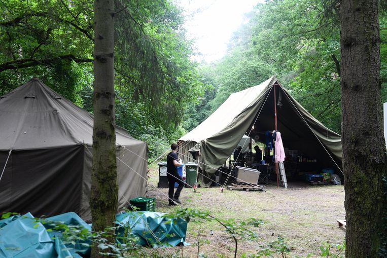 Een scoutskamp deze zomer. Beeld Vertommen
