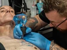 Voor George uit Zwolle is het 'einde verhaal' maar hij wil nog wel een tattoo