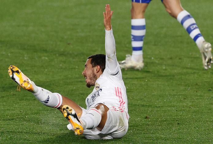 Le Real Madrid n'a pas encore communiqué sur la blessure d'Eden Hazard, mais le Diable Rouge ne jouera pas en Ligue des Champions, mardi.
