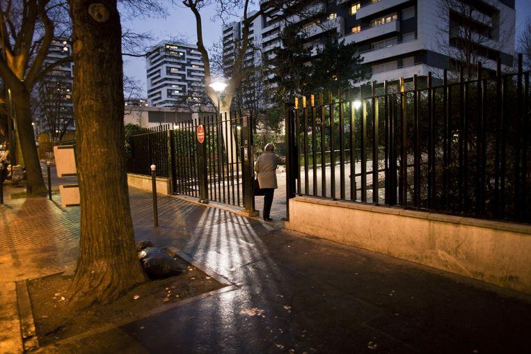 Nabij het Parijse park Buttes-Chaumont. De aanslagplegers vormden hier ooit met gelijkgezinde jongens de Buttes-Chaumontgroep. Beeld Bart Koetsier