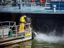 Raad huivert van miljoenenstrop olielek haven