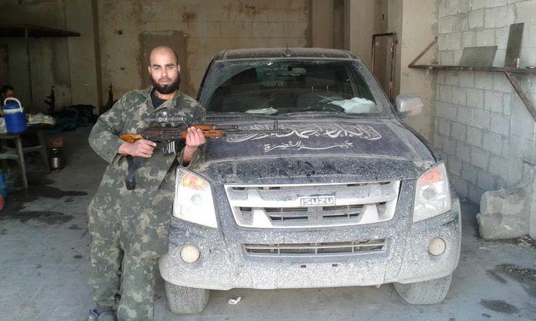 De Brusselse Syriëstrijder Yassine Lachiri. Beeld RV