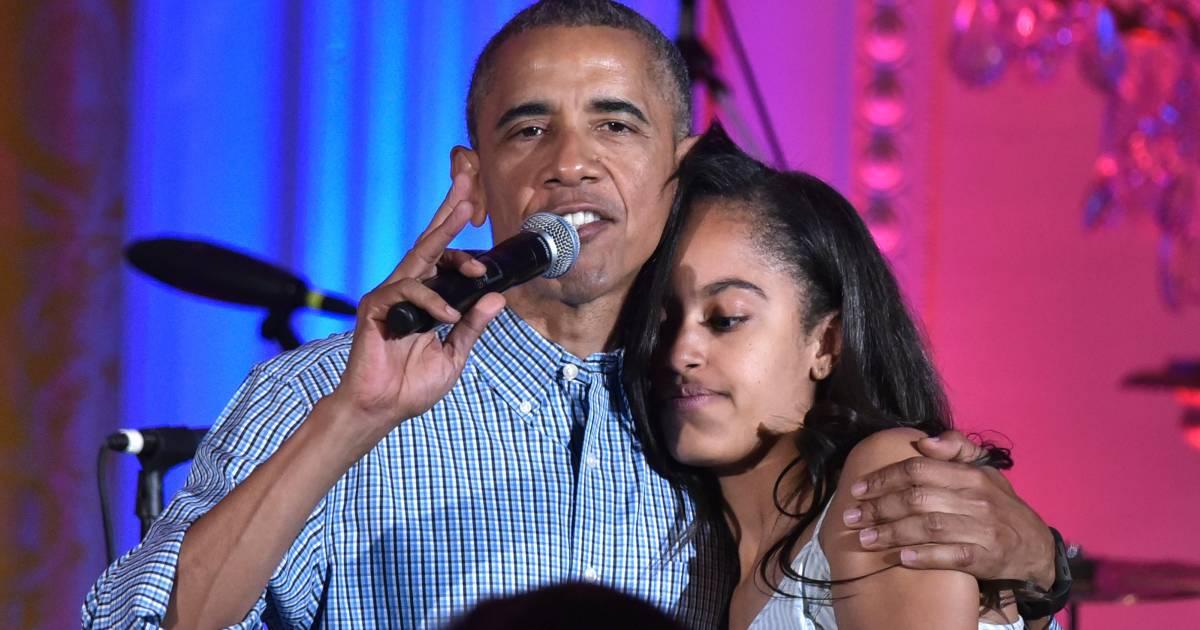 'Met Obama als vader, heeft Malia wel een prima kruiwagen' - AD.nl