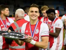 Ajax-captain Tadic wil kampioensschaal: 'Het voelt alsof ik nu een prijs heb verloren'