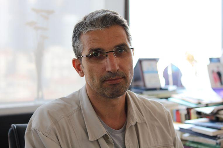 Onderzoeksjournalist Nedim Sener. Beeld melvin ingleby