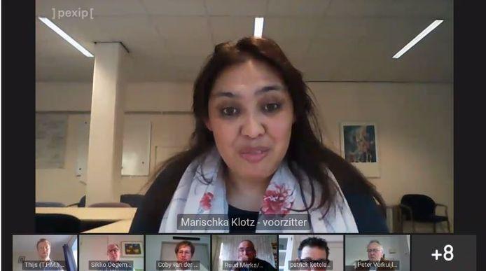 Marischka Klotz was tevens voorzitter van de raadscommissie mens en maatschappij in Meierijstad.