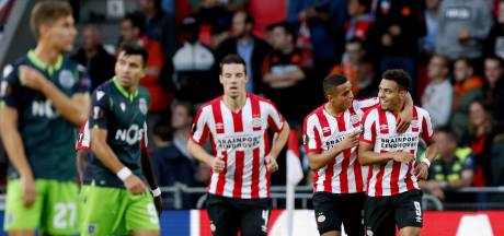 PSV loot vandaag voor Champions League-voorrondes, die zonder uitsupporters worden gespeeld