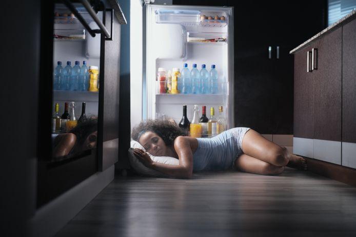Een nacht voor de koelkast is soms de enige oplossing.